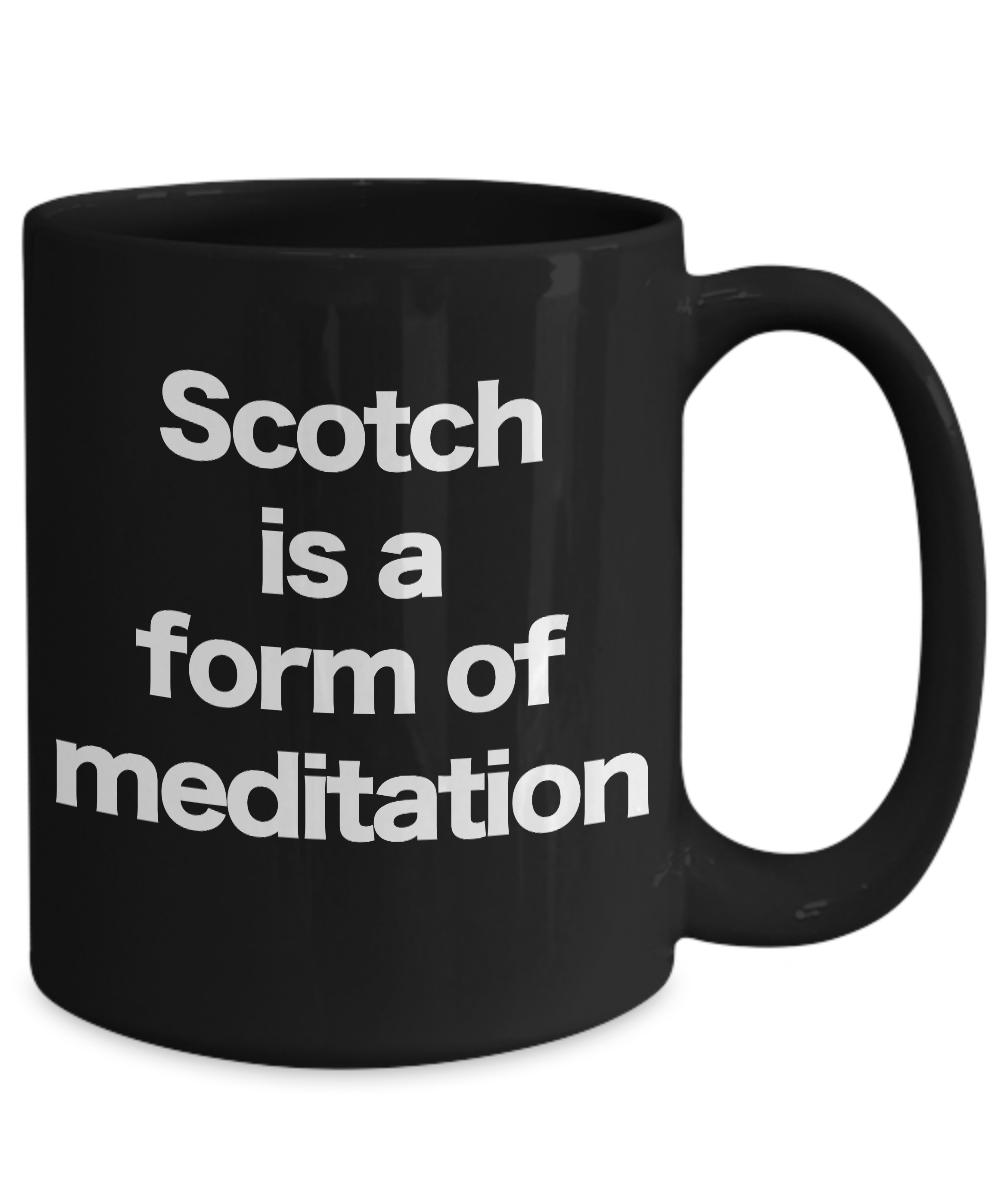 Scotch-Mug-Black-Coffee-Cup-Funny-Gift-for-Dad-Birthday-Whiskey-Bourbon miniature 5