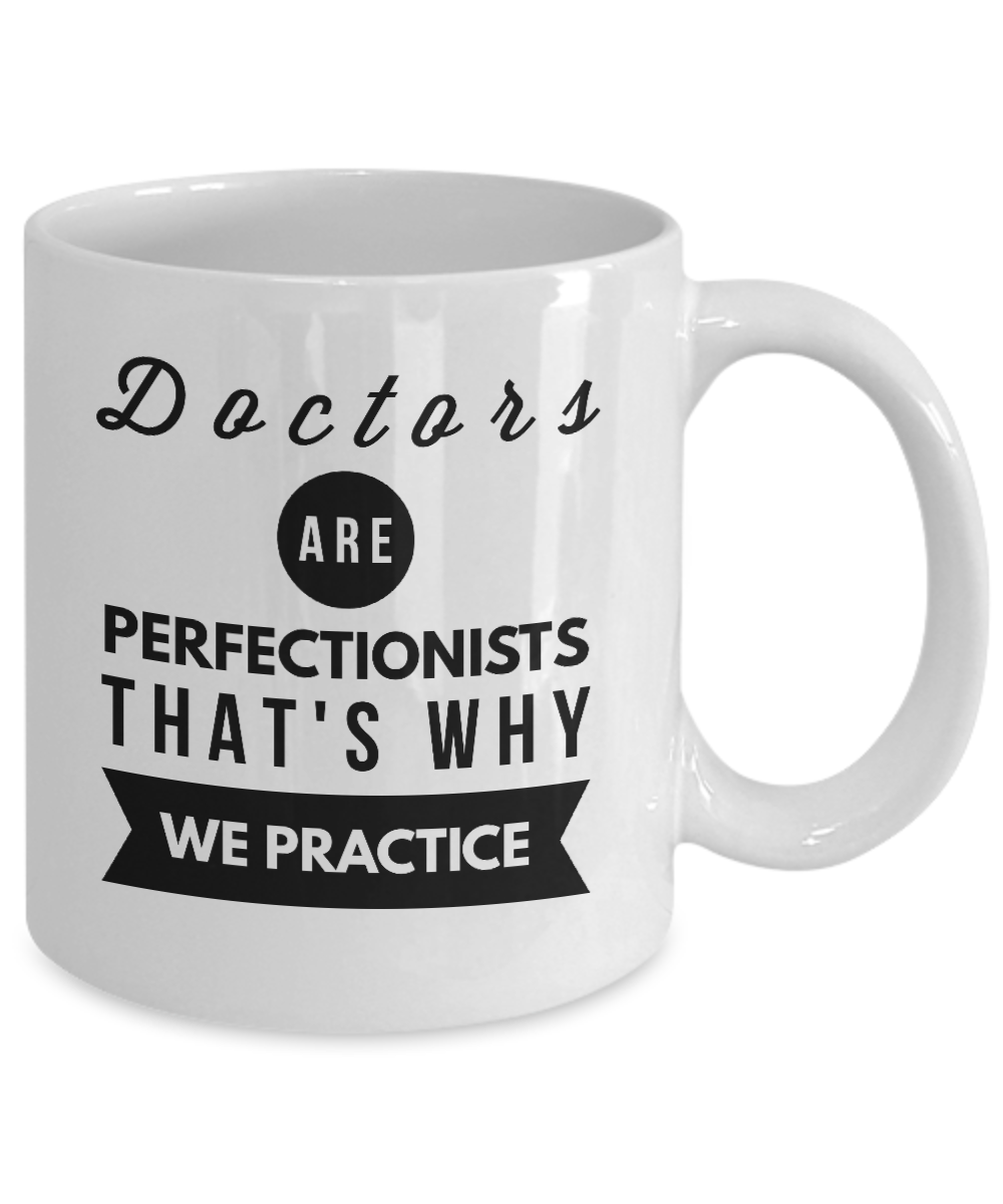 Worlds best doctor coffee mugs - Front