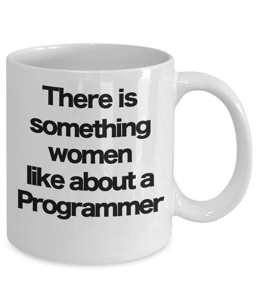 miniature 3 - Programmer Mug White Coffee Cup Funny Gift for Coding Computer Geek Software