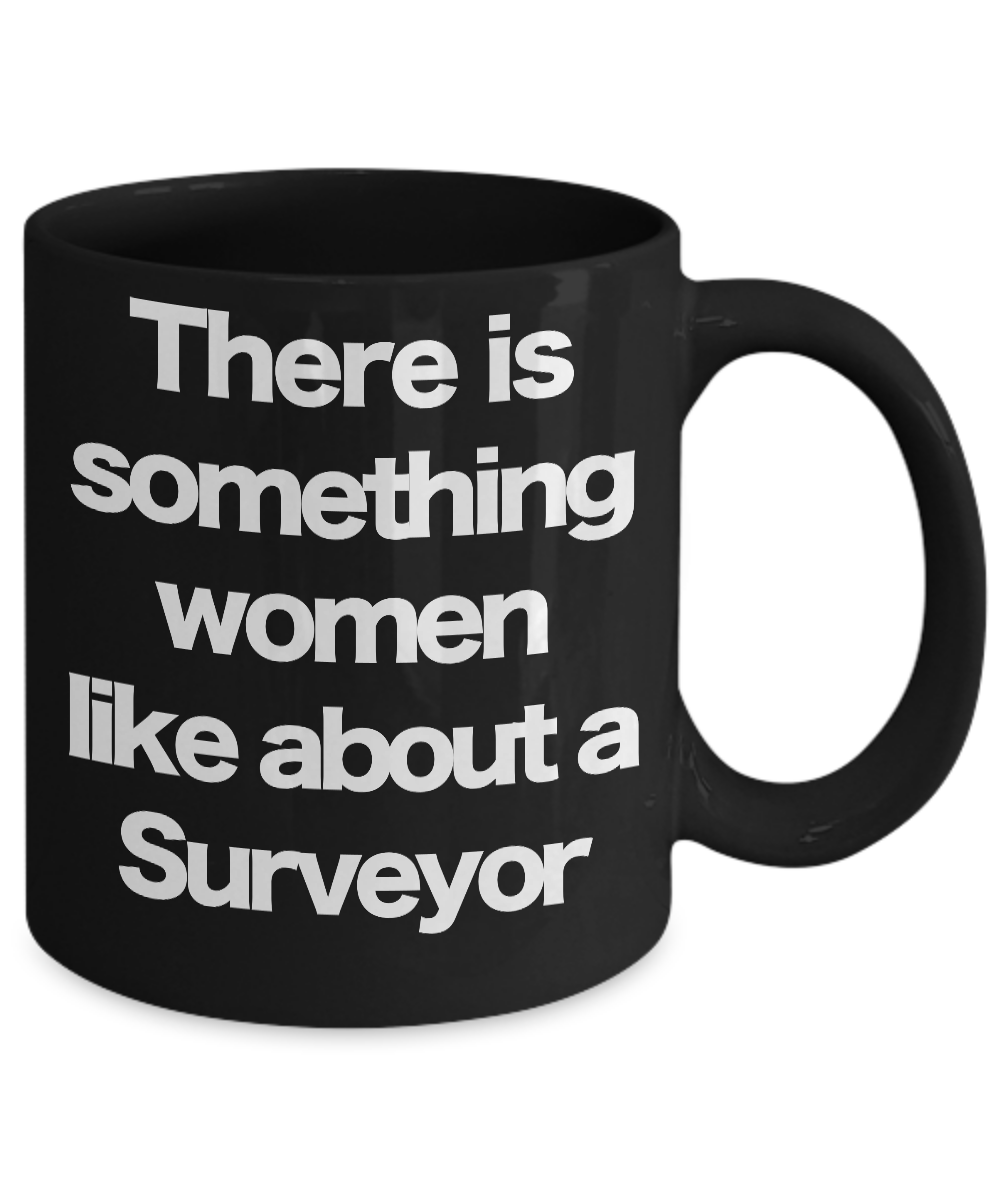 Surveyor-Mug-Black-Coffee-Cup-Funny-Gift-for-Land-Surveying-Professional-Mapping miniature 3