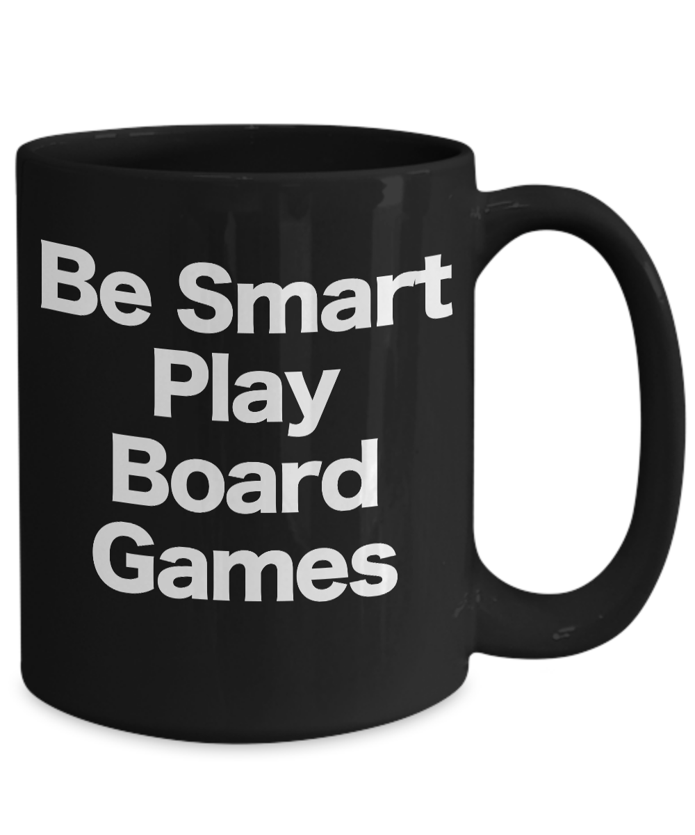 miniature 5 - Board Game Mug Black Coffee Cup Funny Gift Role Play Reality Strategy Fantasy