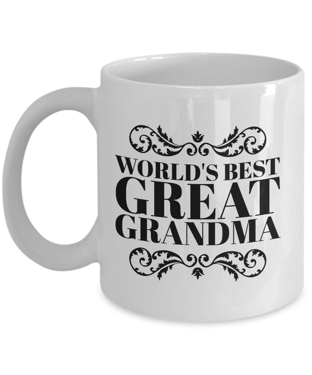 0beb3fd6e08 World's Best Great Grandma Mug-Best Grandma Gift-Grandma Gifts From ...