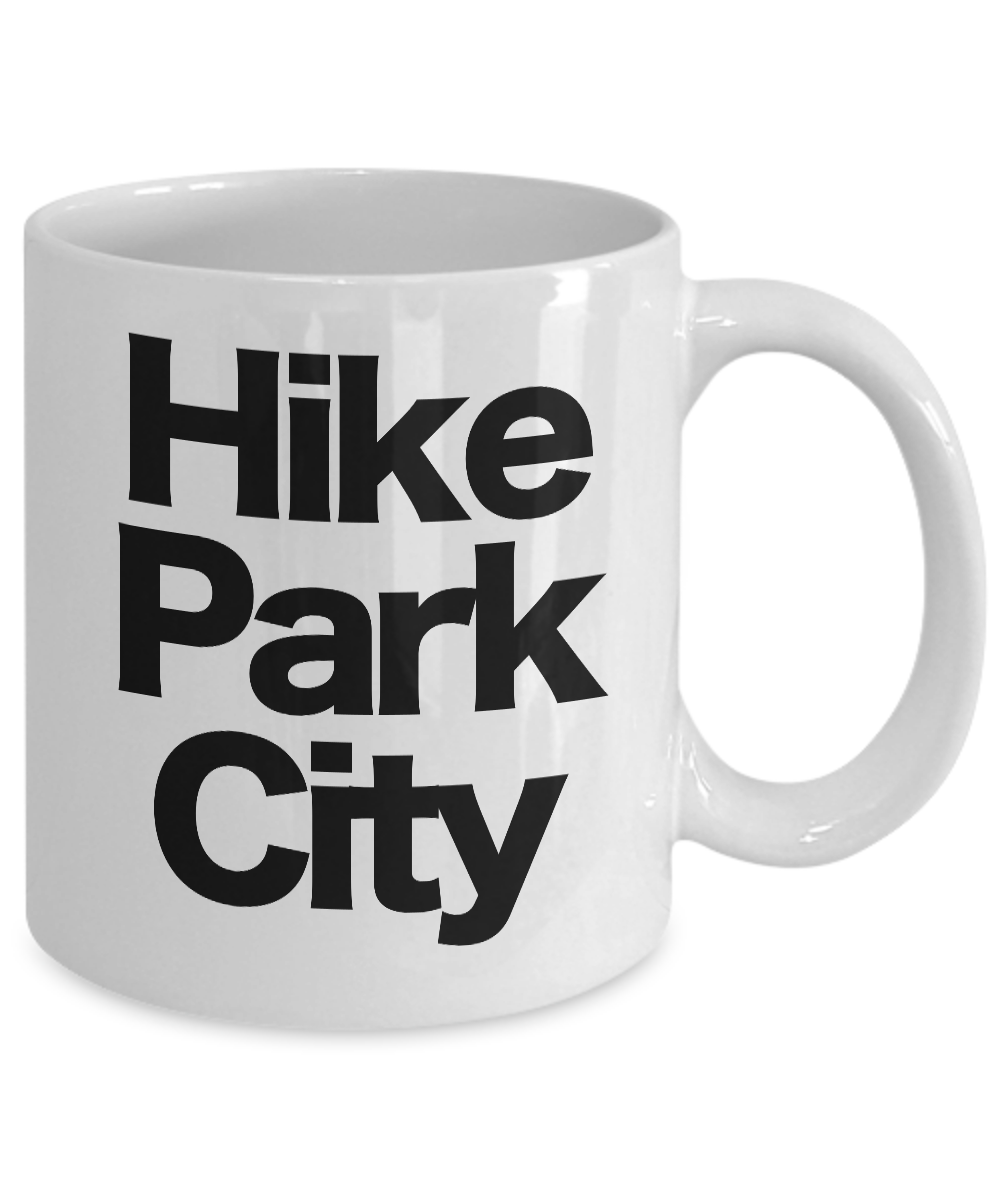 Hike-Park-City-Mug-White-Coffee-Cup-Funny-Gift-for-Skier-Patrol-Bunny-Bum-Utah miniature 3