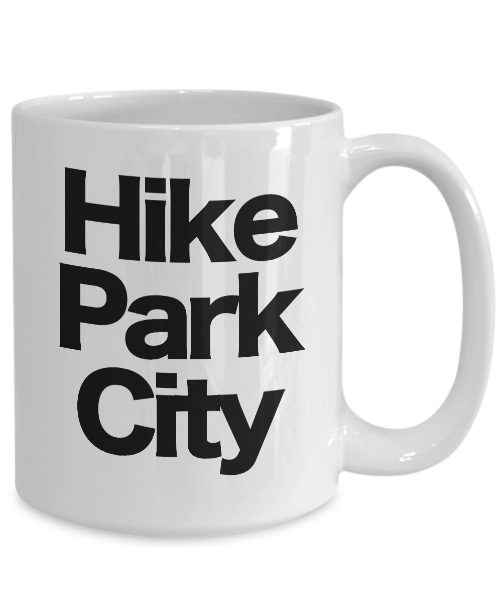 Hike-Park-City-Mug-White-Coffee-Cup-Funny-Gift-for-Skier-Patrol-Bunny-Bum-Utah miniature 5