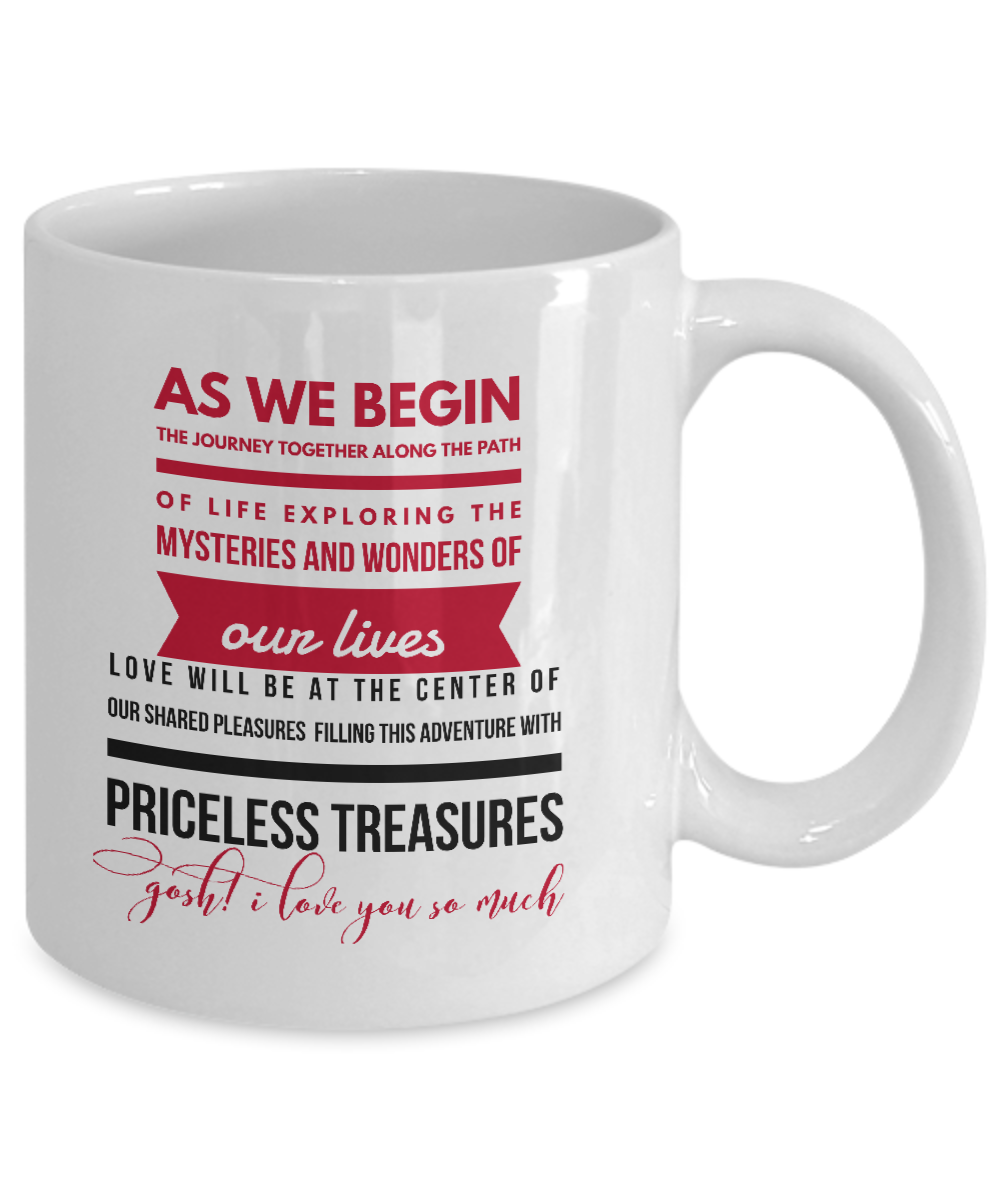 Coffee Mug For Engagement Anniversary Marriage 2 Sides Printed