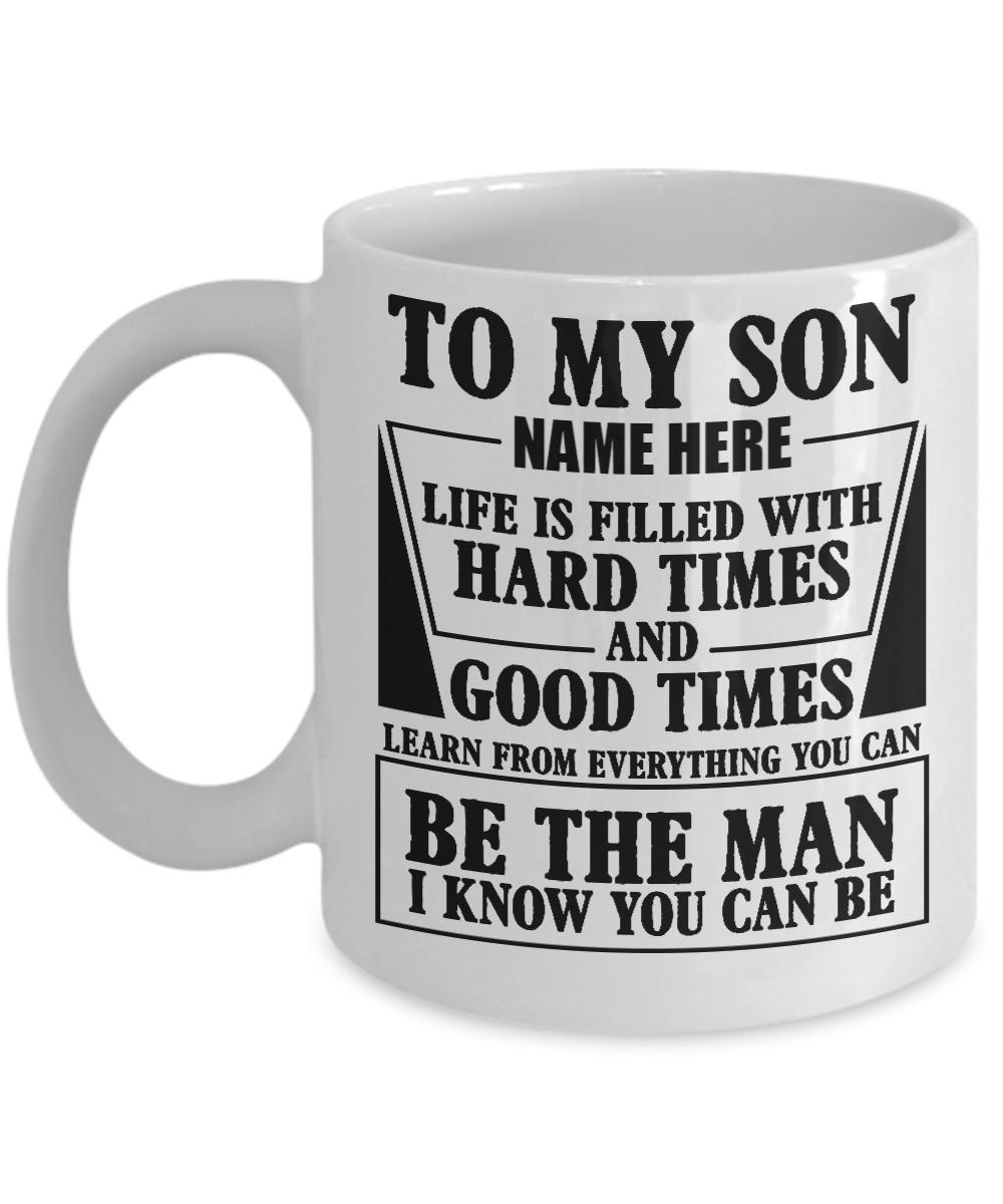 to my son mug. Black Bedroom Furniture Sets. Home Design Ideas