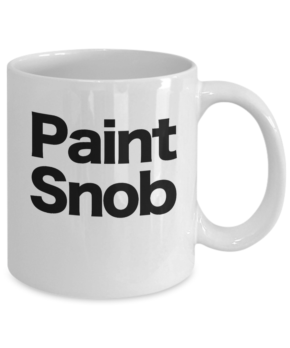 Painter-Mug-White-Coffee-Cup-Funny-Gift-for-Artist-House-Commercial-Professional miniature 3