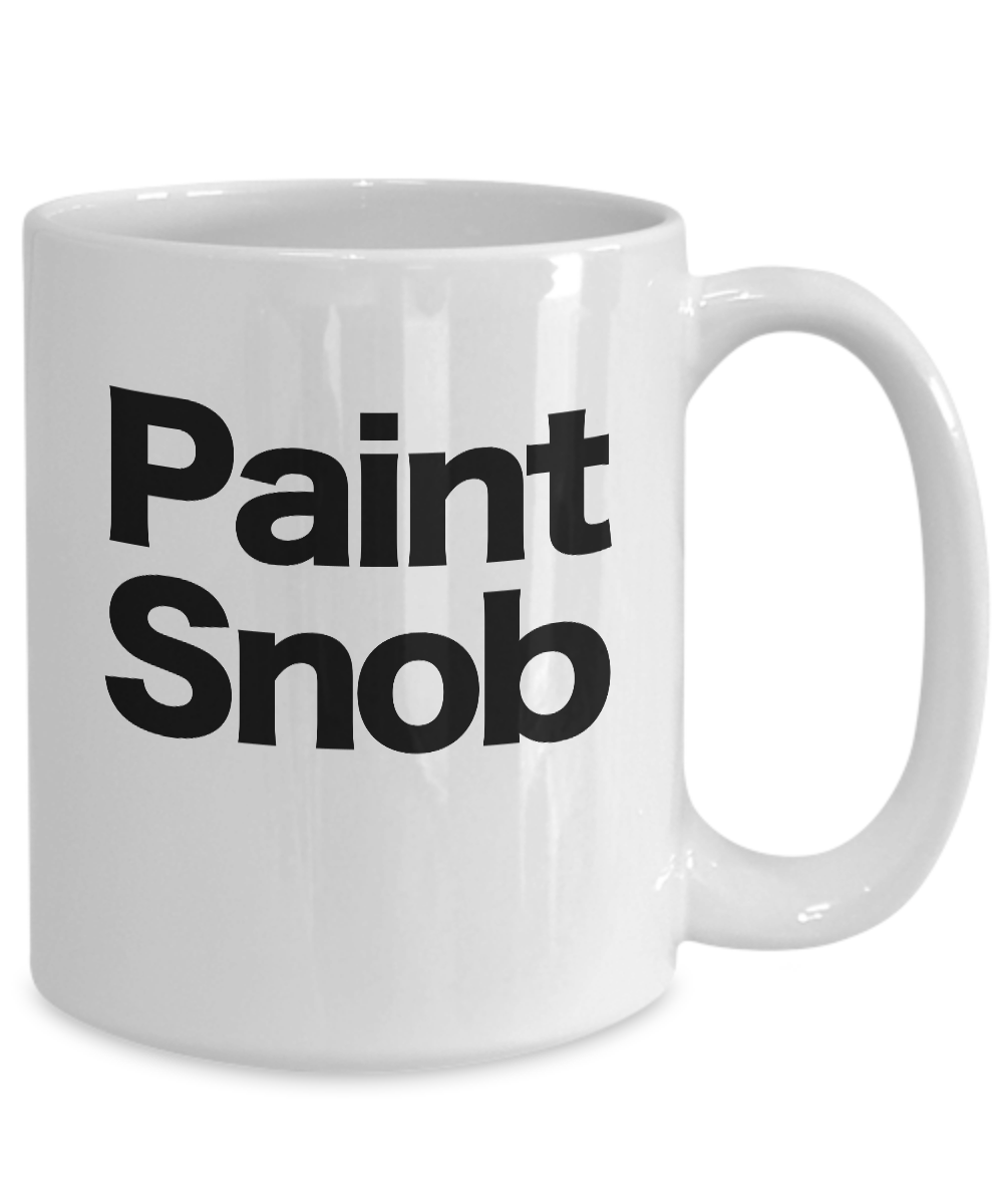 Painter-Mug-White-Coffee-Cup-Funny-Gift-for-Artist-House-Commercial-Professional miniature 5