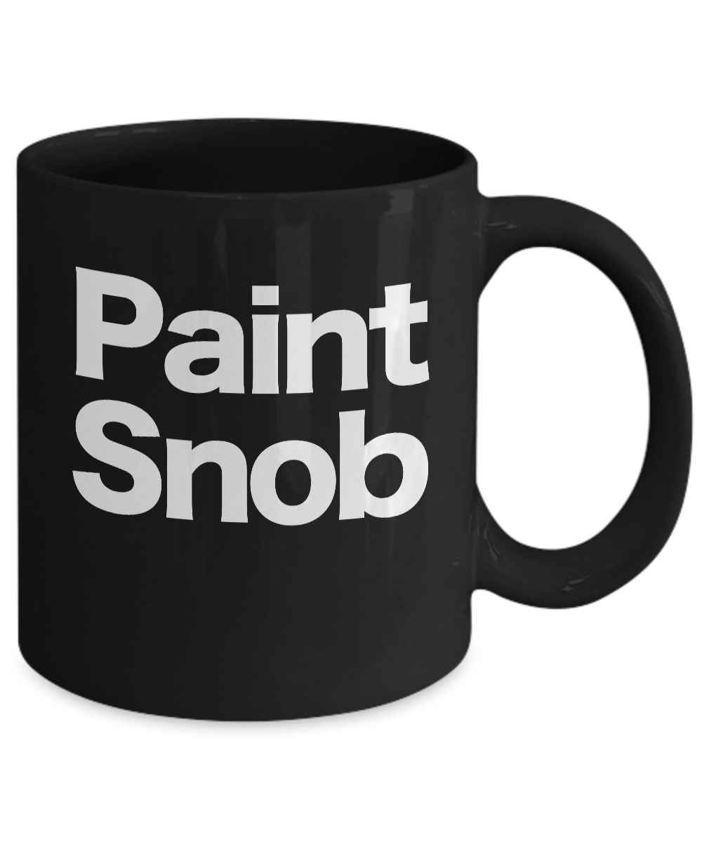 miniature 3 - Painter-Mug-Black-Coffee-Cup-Funny-Gift-for-Artist-House-Commercial-Professional