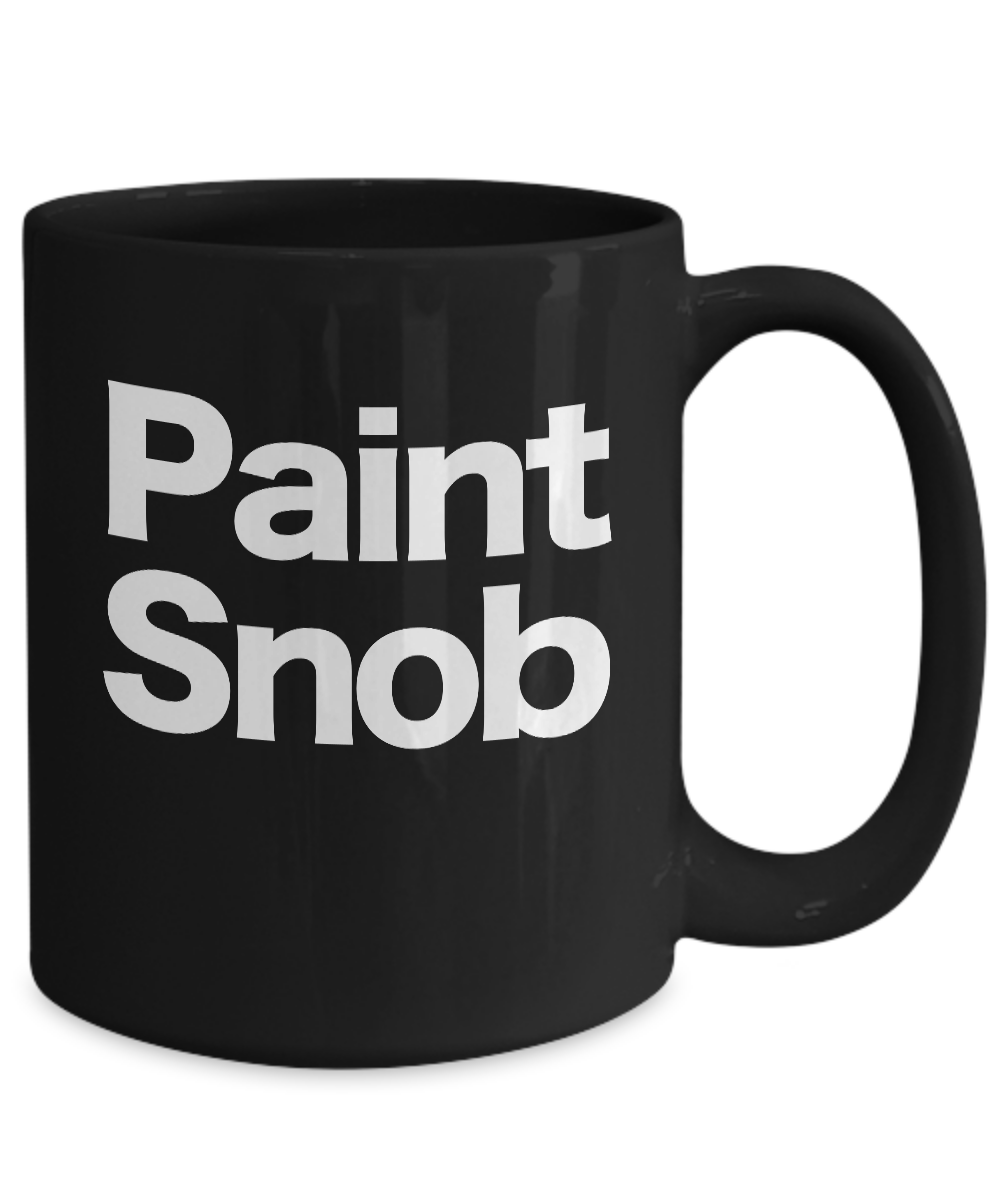 miniature 5 - Painter-Mug-Black-Coffee-Cup-Funny-Gift-for-Artist-House-Commercial-Professional