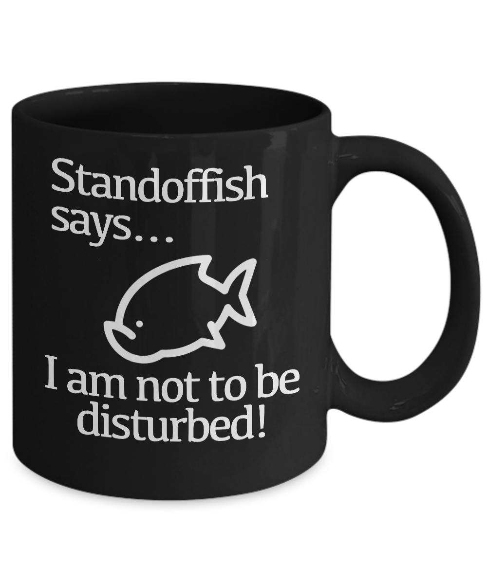 miniature 3 - Do Not Disturb Mug Black Coffee Cup Funny Gift Gamer Introvert Artist Creator