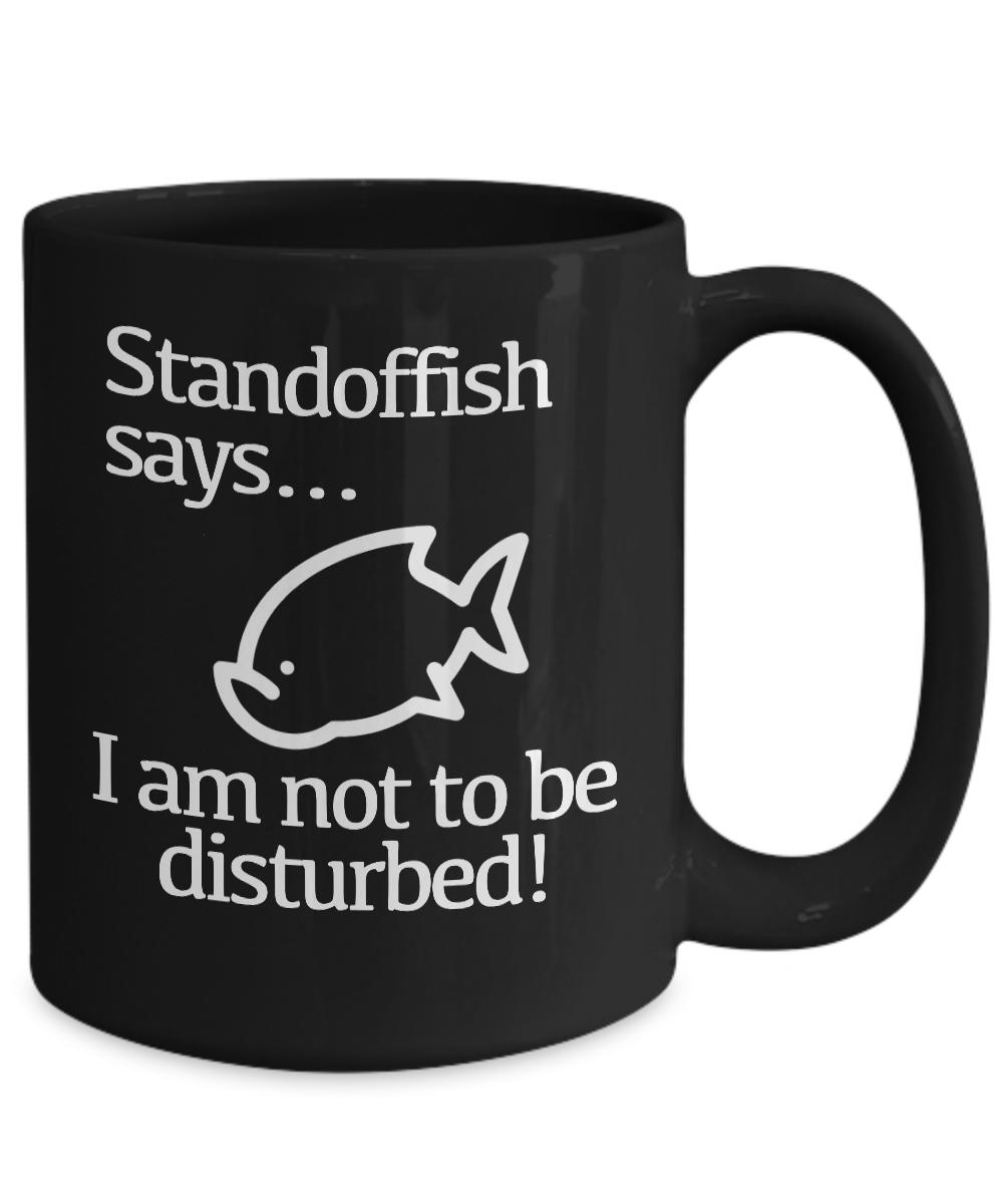 miniature 5 - Do Not Disturb Mug Black Coffee Cup Funny Gift Gamer Introvert Artist Creator