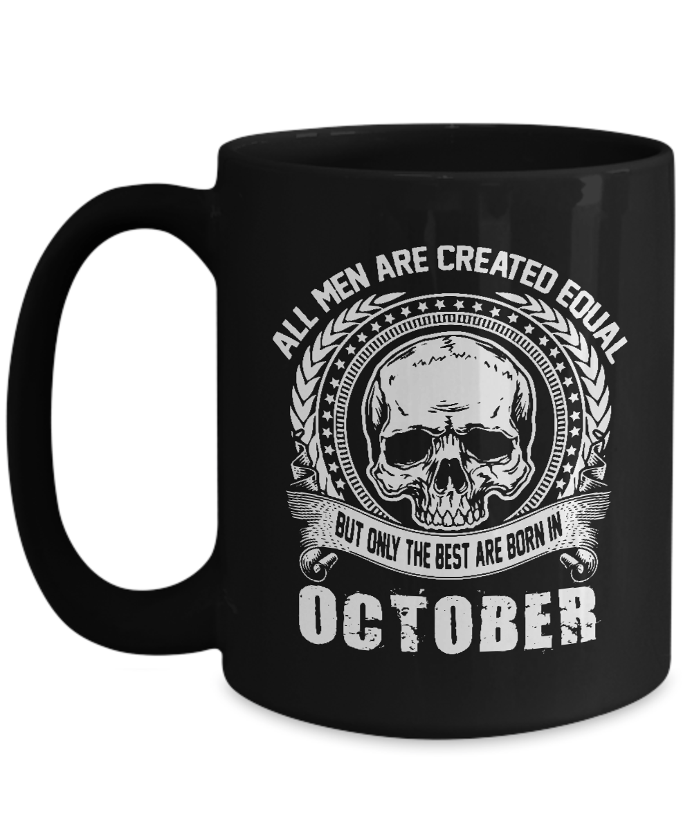 October Mugs Funny Birthday Gifts For Women Men Front