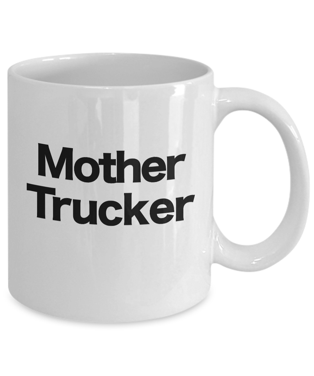 miniature 3 - Mother Trucker Mug Coffee Cup Funny Gift for Mom In Law Bonus Step Birthday