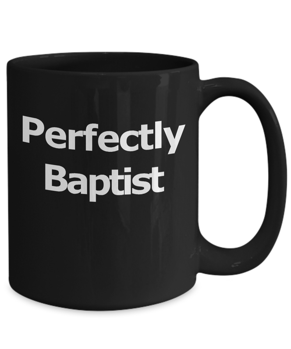 Baptist-Mug-Black-Coffee-Cup-Funny-Gift-for-Pastor-Elder-Worship-Church-Leader miniature 5