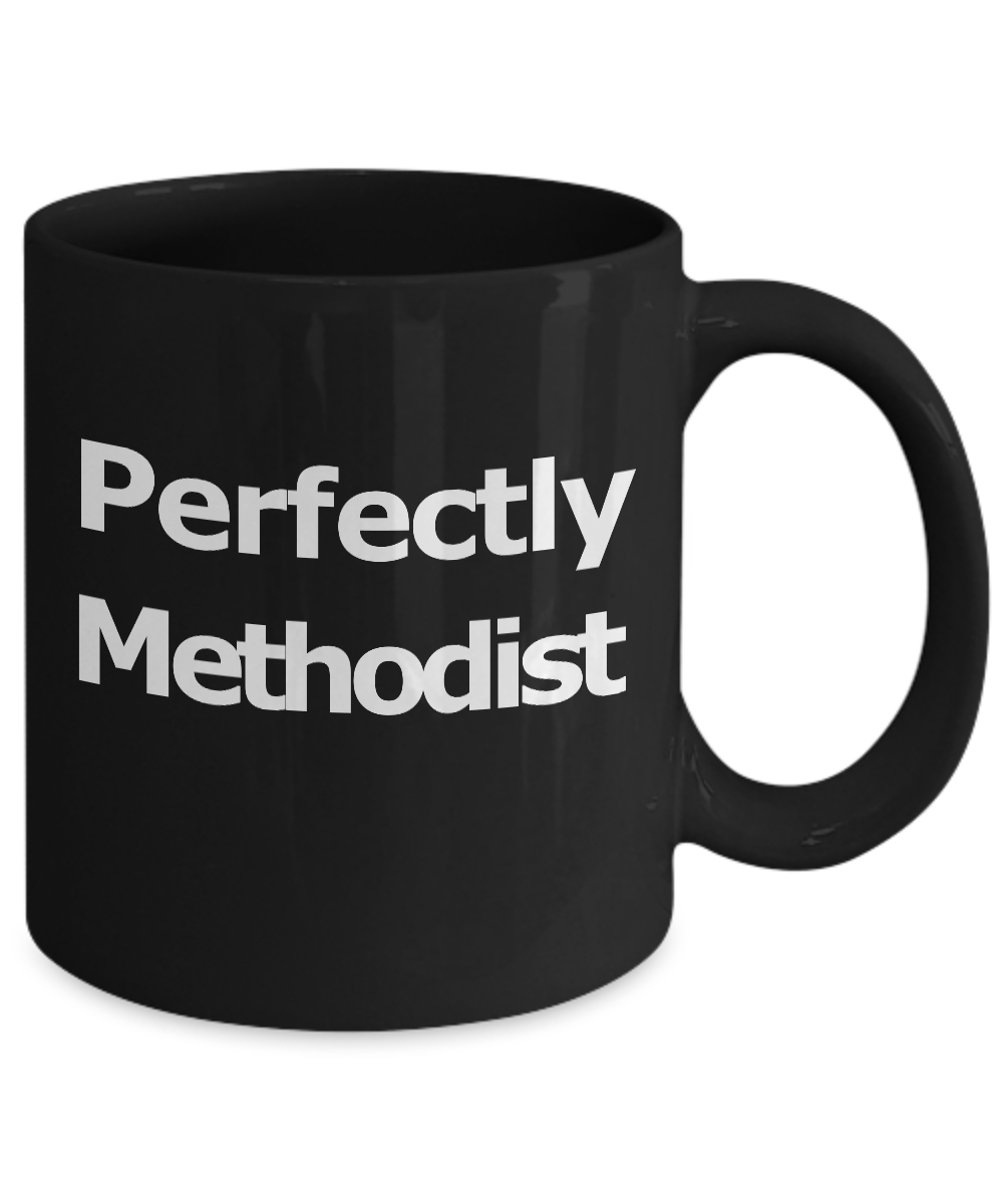 Methodist-Mug-Black-Coffee-Cup-Gift-for-Pastor-Elder-Teacher-Worship-Leader miniature 3