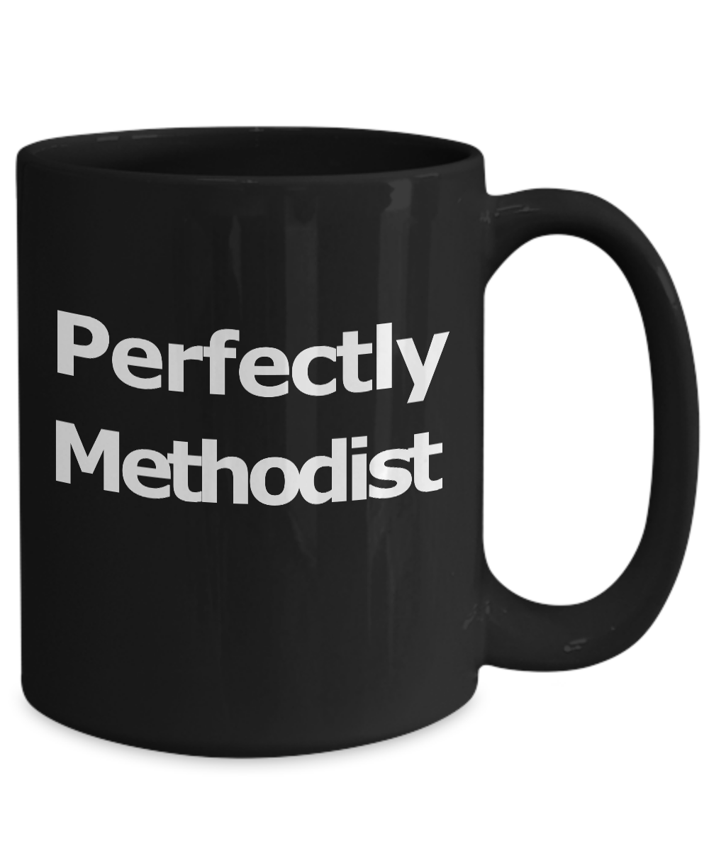 Methodist-Mug-Black-Coffee-Cup-Gift-for-Pastor-Elder-Teacher-Worship-Leader miniature 5