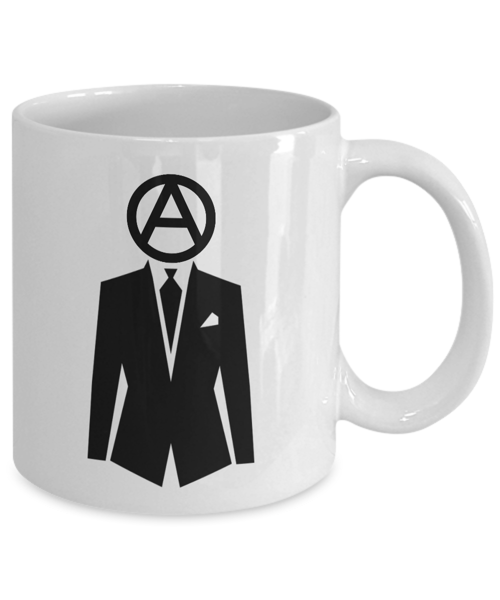 Professional-Anarchist-Mug-Coffee-Cup-Funny-Gift-for-Peaceful-Protester-Activist miniature 3