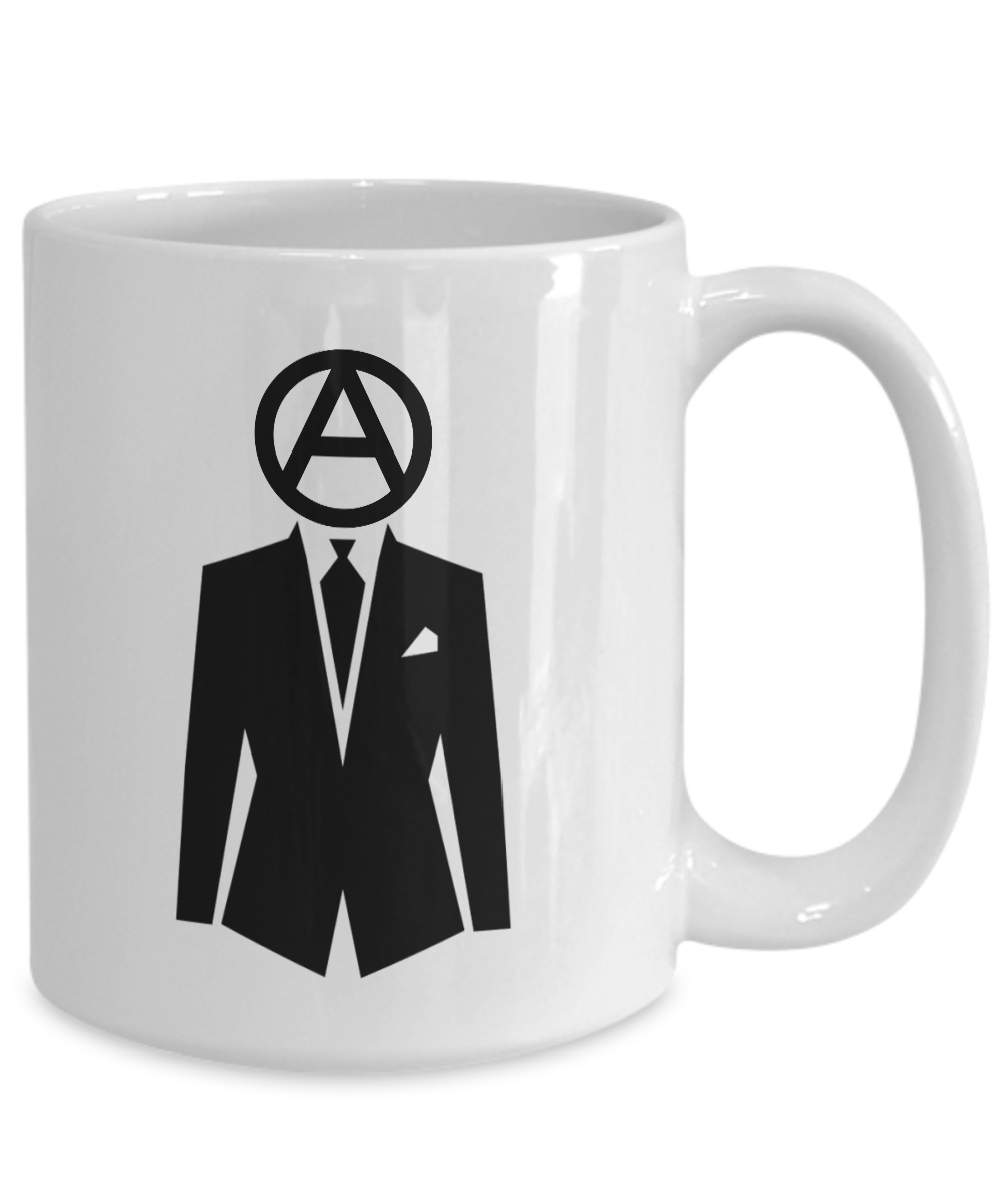 Professional-Anarchist-Mug-Coffee-Cup-Funny-Gift-for-Peaceful-Protester-Activist miniature 5