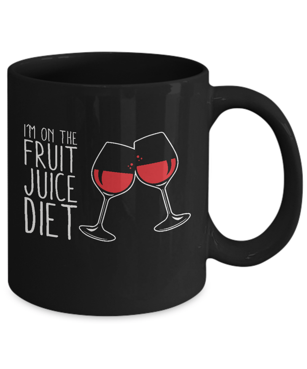 I 39 M On The Fruit Juice Diet Home Office Coffee Mug Cup