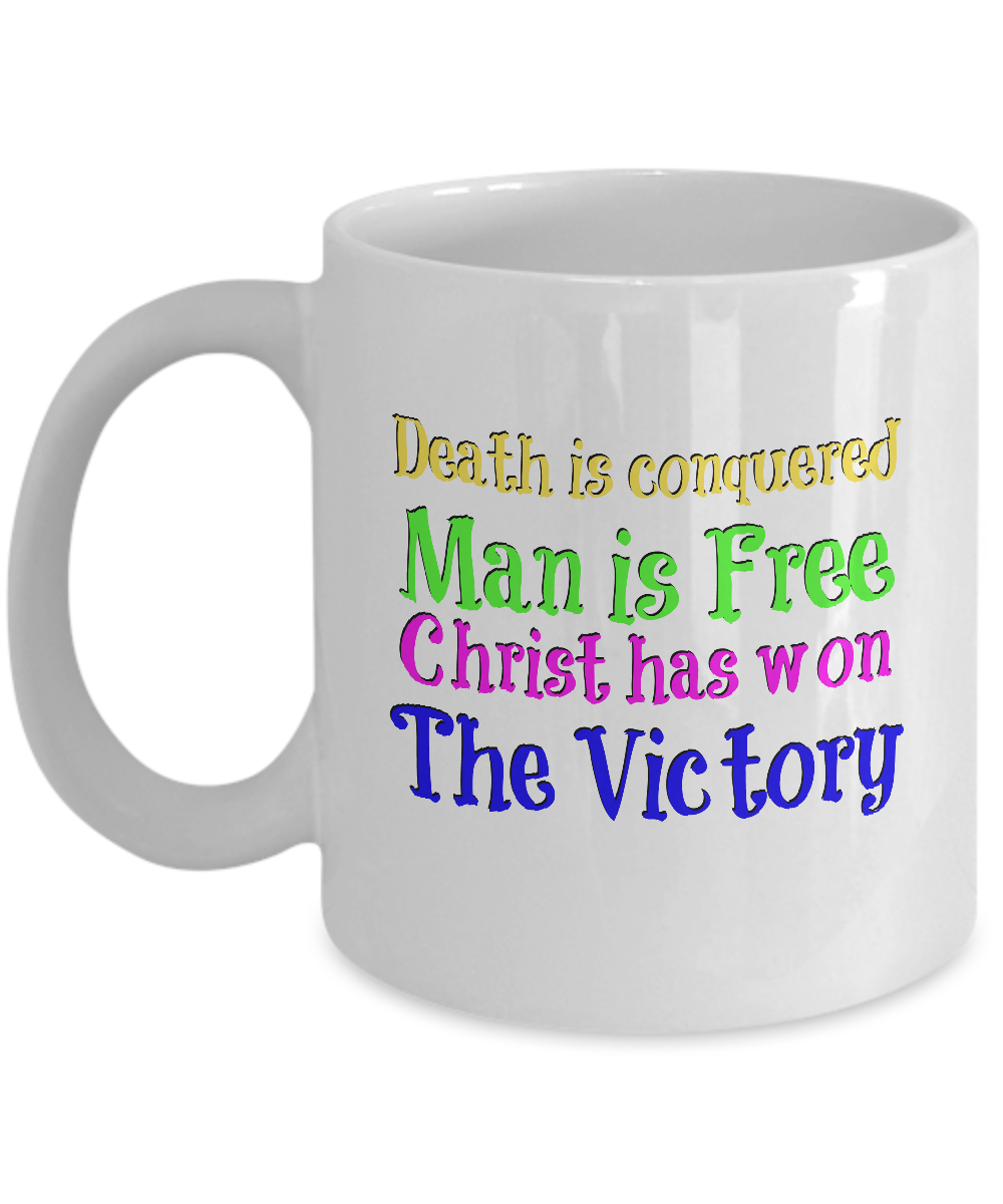 Easter gift message special mug front negle Choice Image