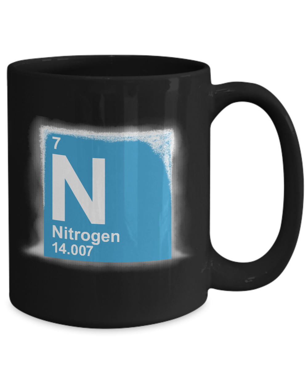 Liquid Nitrogen N Periodic Table Coffee Mug Gearbubble Campaign
