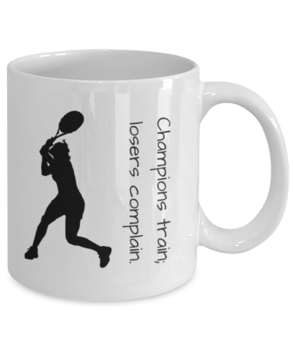 Motivational Quotes For Sports Teams: Champions Train; Losers Complain (Female): Gearbubble Campaign
