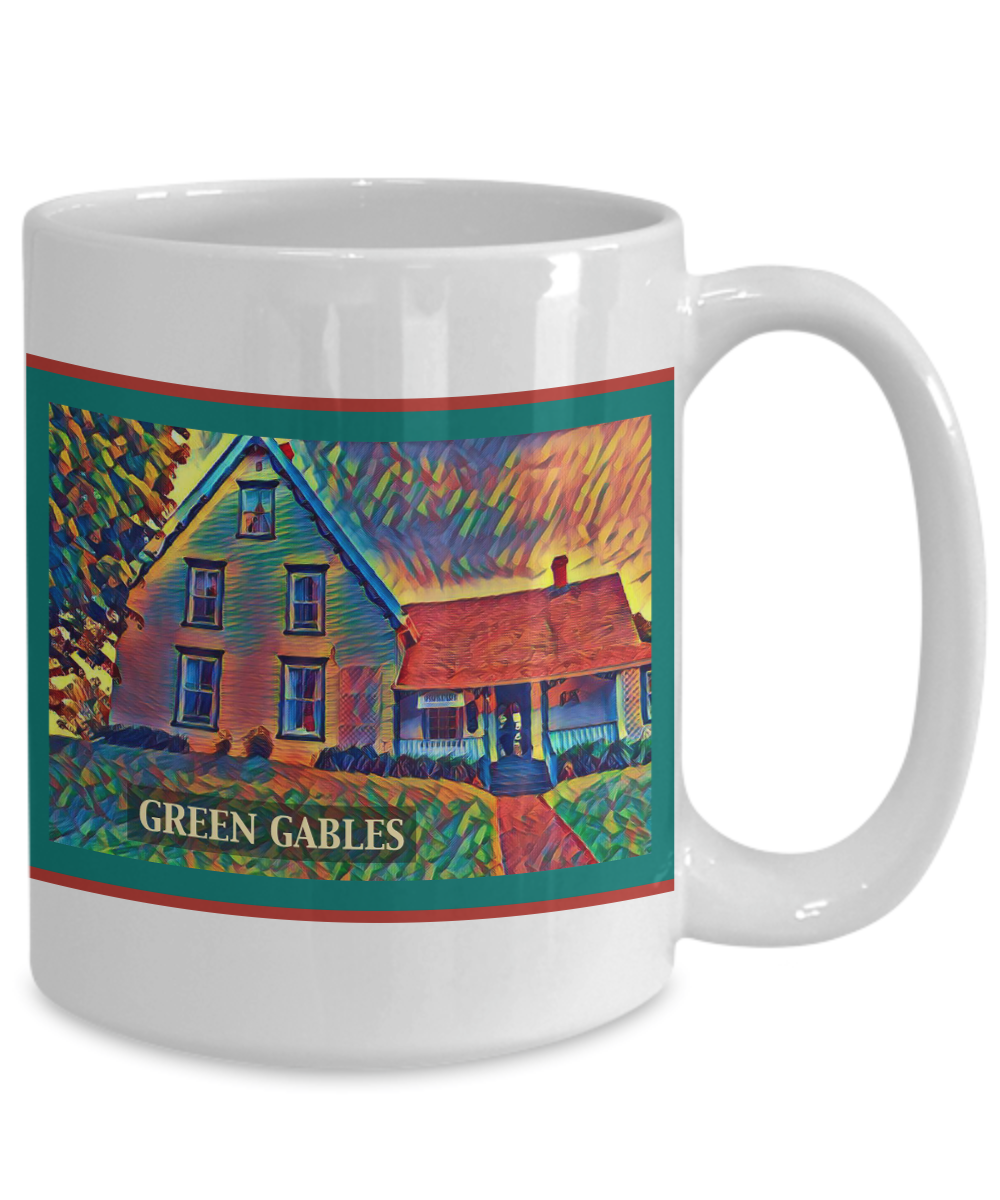 Anne Of Green Gables Coffee Mug Prince Edward Island Lucy