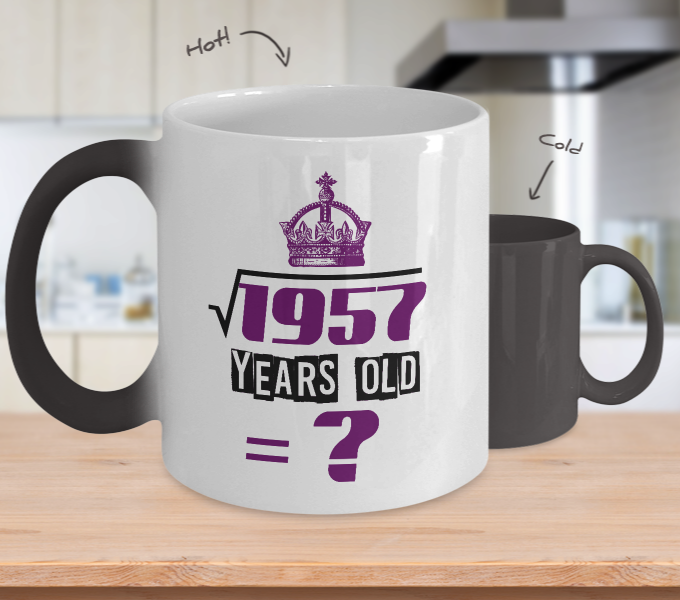 Years Old Perfect Birthday Gifts ColorChangingMug Front