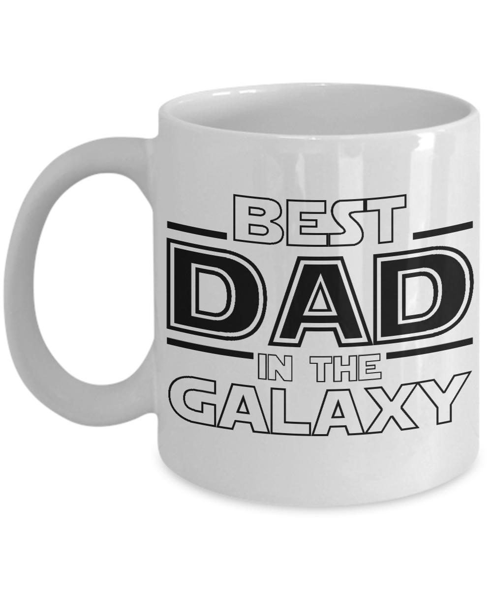 best dad in the galaxy dad coffee mug fan inspired star wars dad