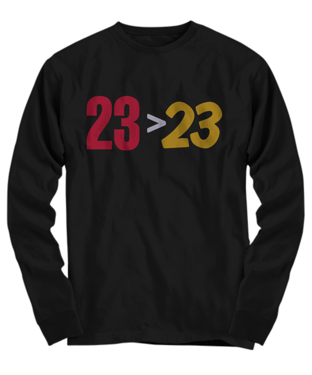 on sale 7e149 5b90d Lebron 23 23 shirt