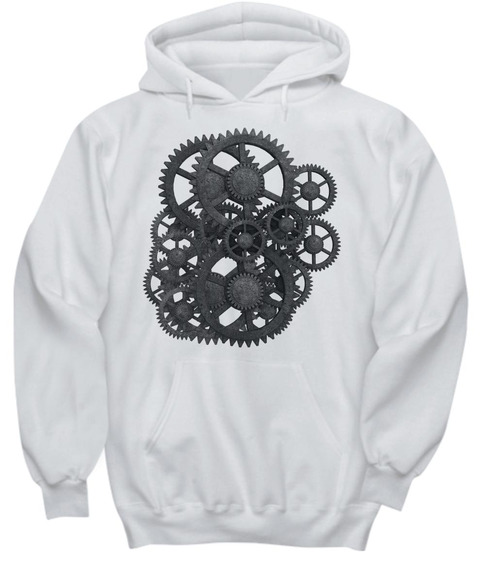 Steampunk hoodie
