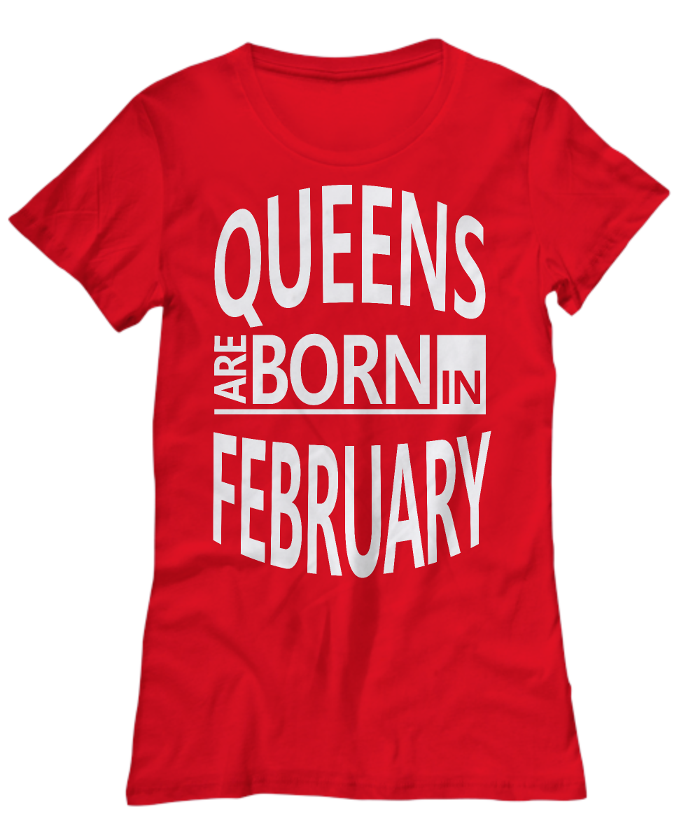 Queen Birthday Shirt Hoodie Born In February Aquarius Pisces Gift