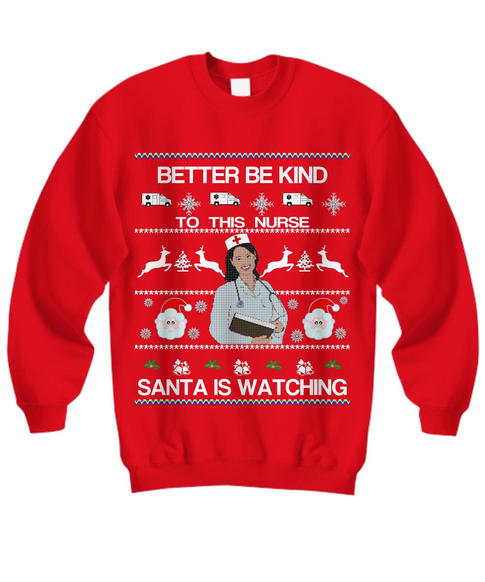 Nurse Christmas Sweater.Nurses Ugly Christmas Sweater