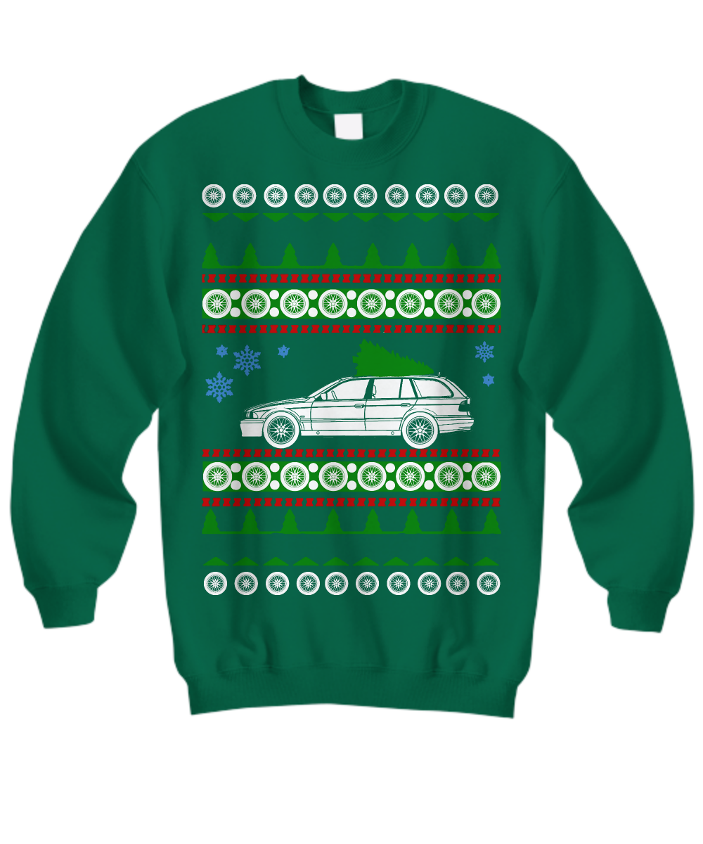Herrenmode Bmw E39 Touring Ugly Christmas Sweater Kk Split Com