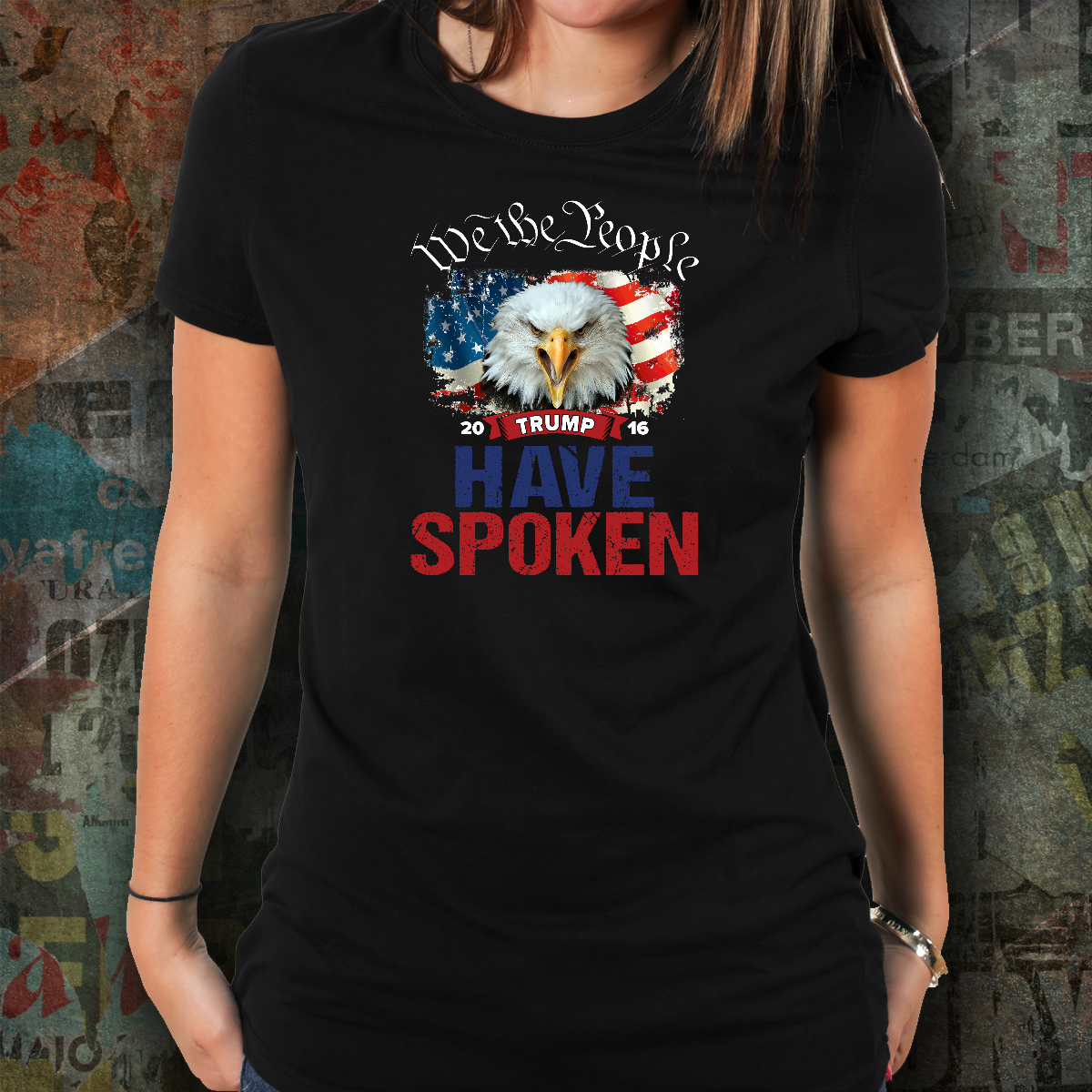REVISED - We The People - Have Spoken - Women's Tee's & Tanks
