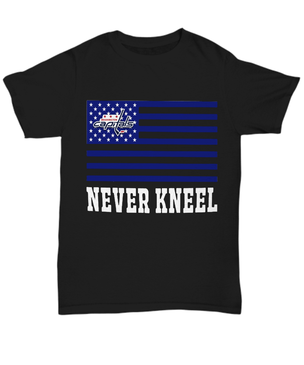 50bf9abb8 ovechkin never kneel, Washington Capitals Never Kneel Shirt. Front