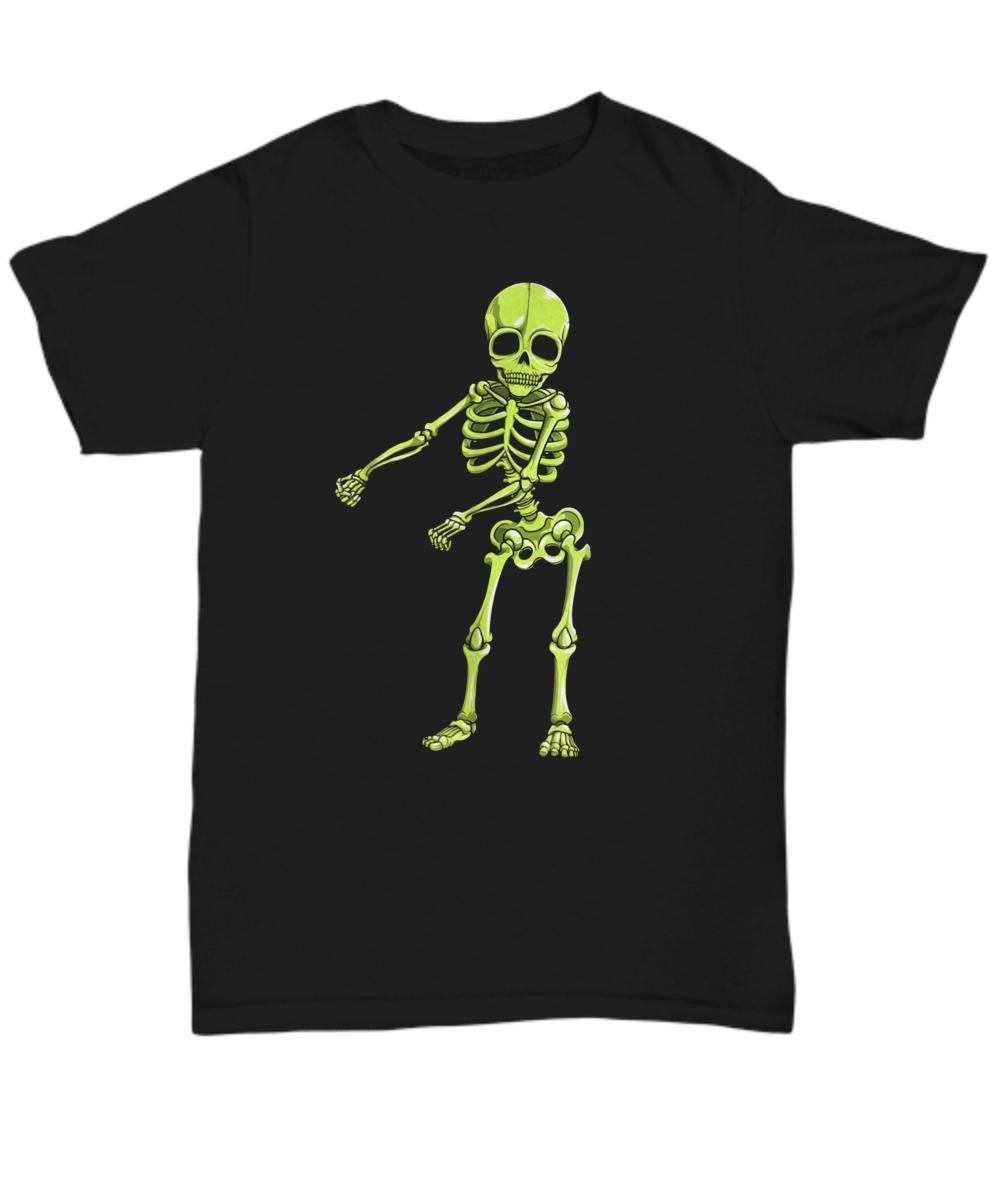 f4d0a367050 Floss Dance Skeleton T Shirt Halloween Kids Boys Flossing. Front