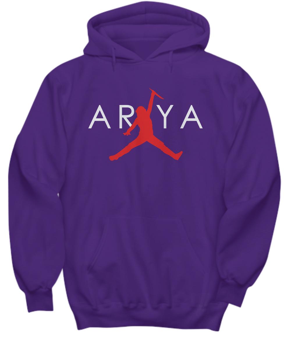 Cool Design: Arya Stark Air Jordan shirt, hoodie, tank top