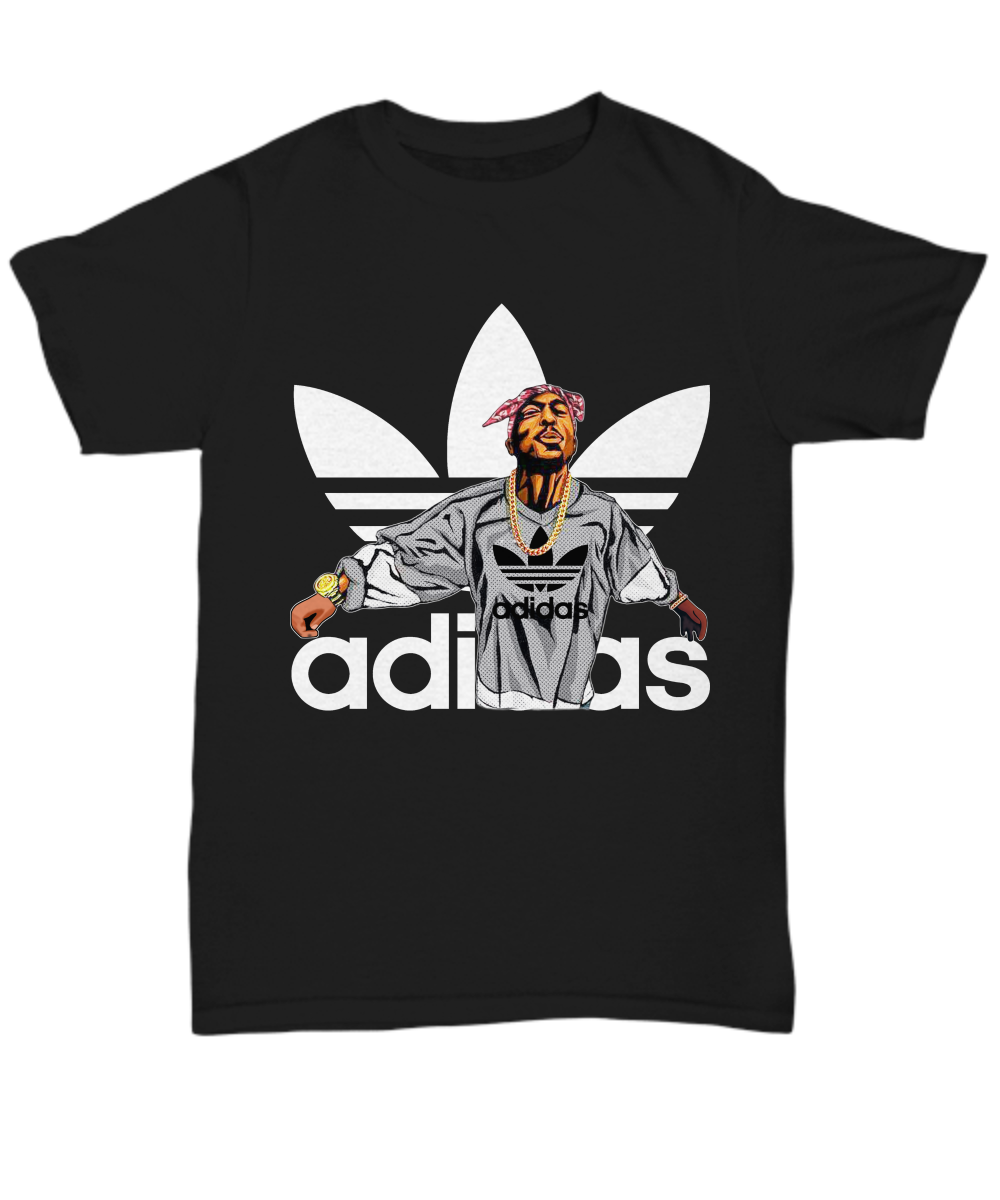 Tupac Shakur Adidas T Shirt Hoodie And Sweater Best Gift
