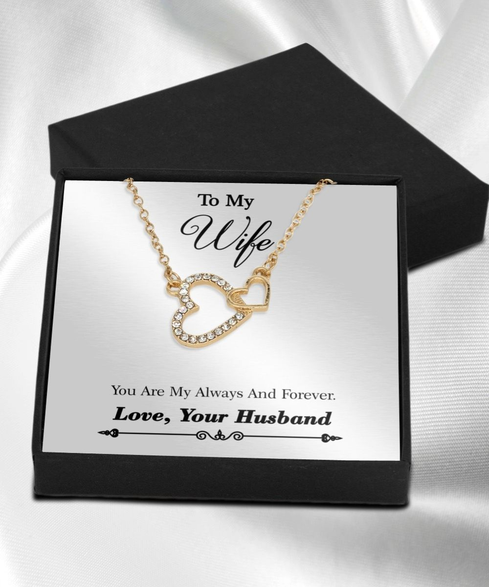 To%20my%20wife%20you%20are%20my%20always%20and%20forever%20necklace
