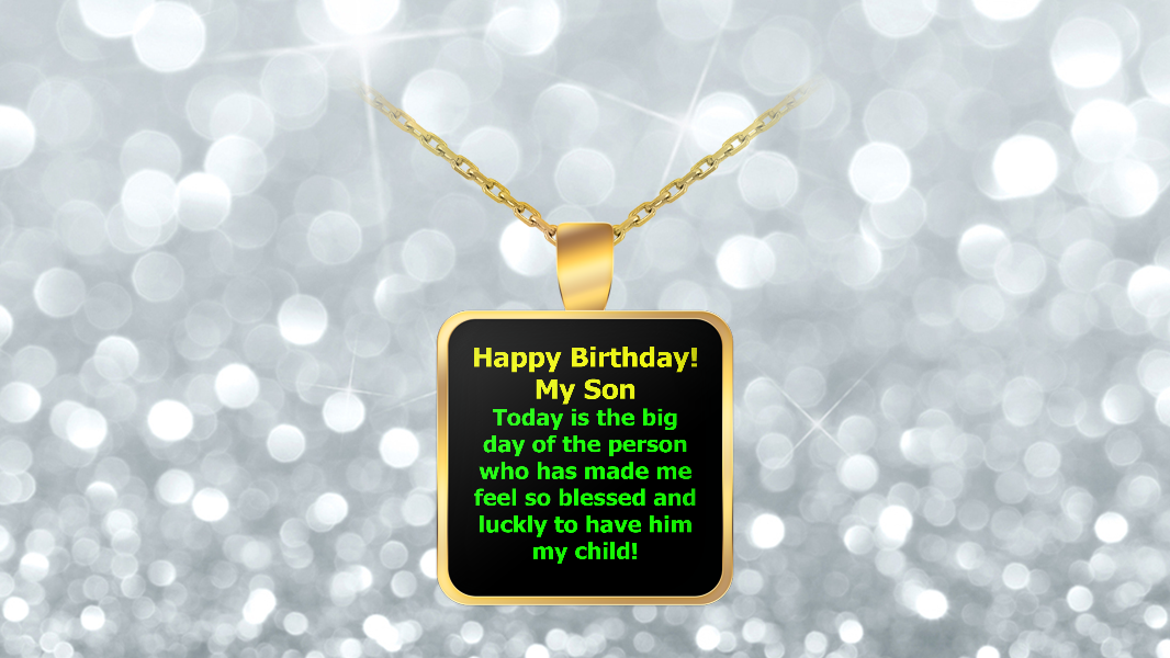 a gift from a son who