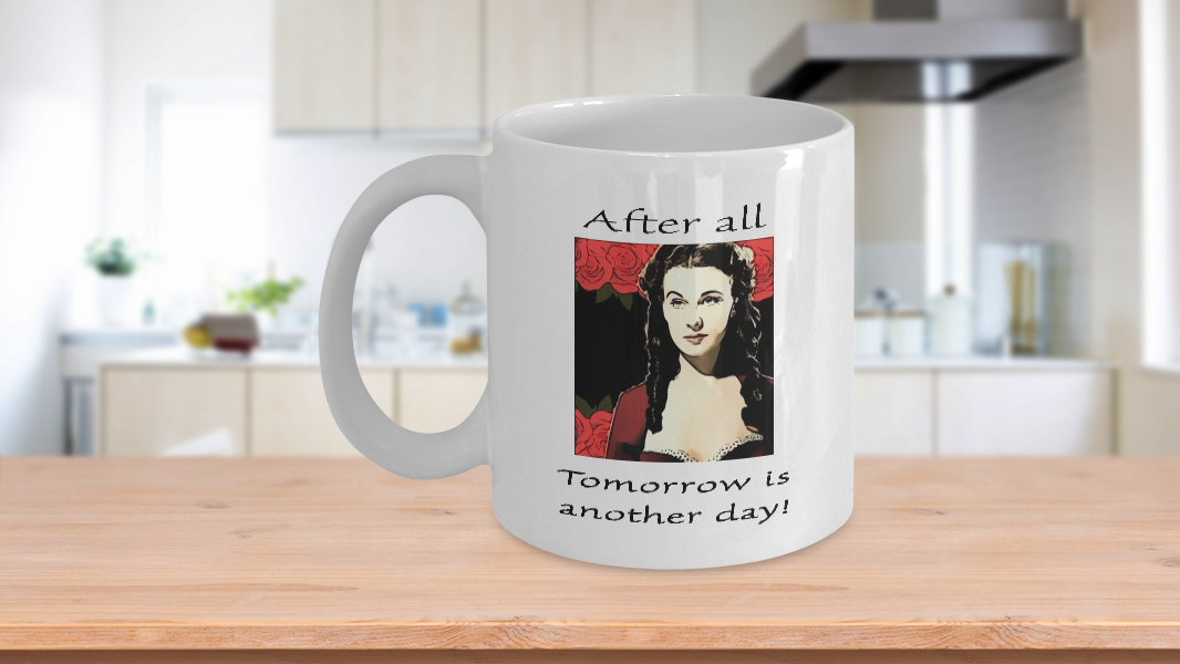 Gone O'hara Mug Wind Scarlett The With Gifts All Coffee After L5AR34j