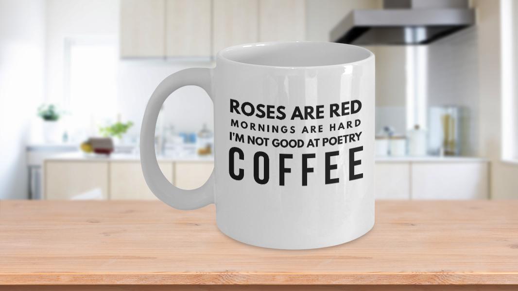 Humorous Coffee Mugs Humorous Poetry
