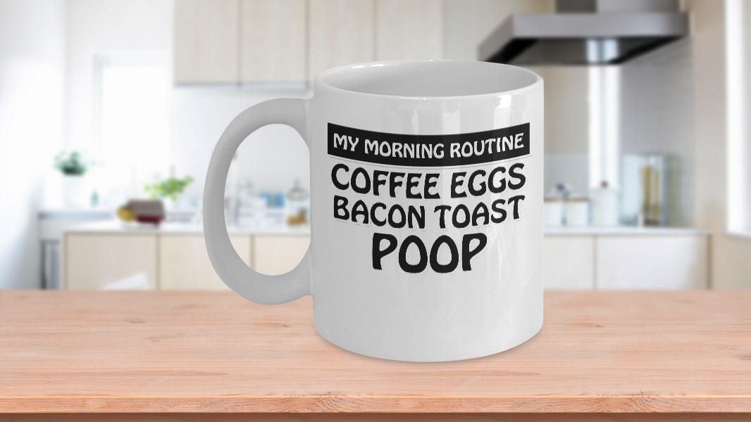 morning poop routine