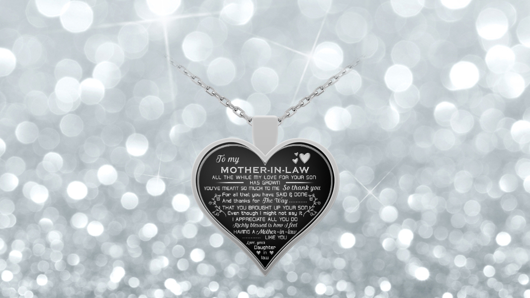 Mother-in-law necklace gift