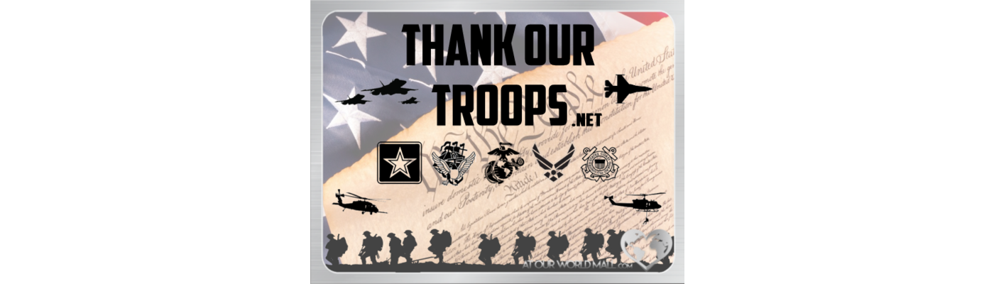Owm thank our troops slideshow slides 580 x 440