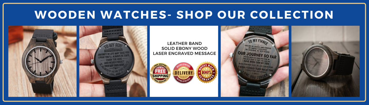Wooden watches   shop our collection