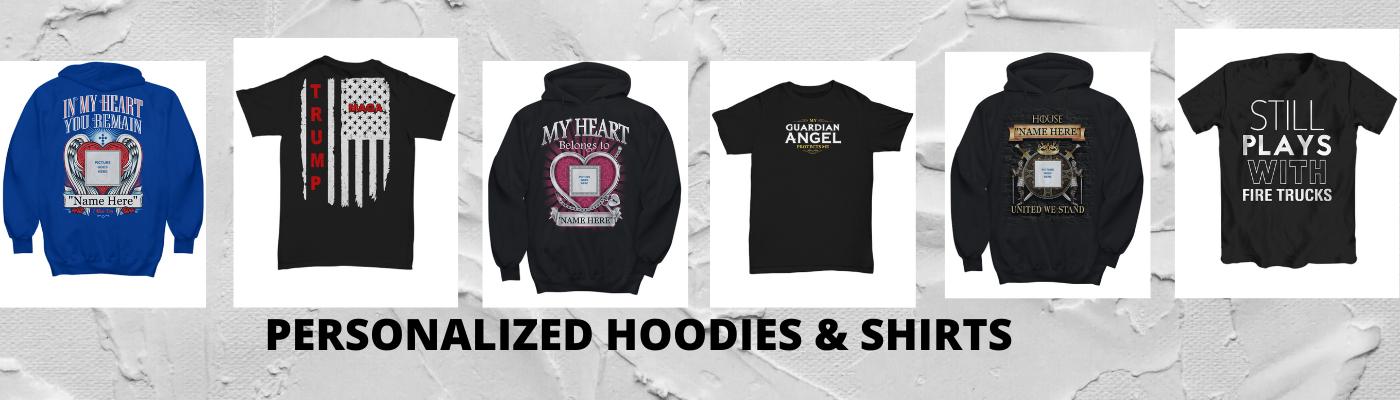 Slider hoodies shirts
