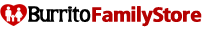 Burrito family store logo 205x30